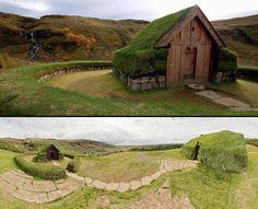 Réplique islandaise d'une chapelle Viking