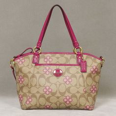 Coach Peyton Clover Pocket Tote -- this needs to be my next purse  *hint hint*