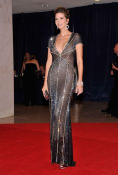 Ivanka Trump in Naeem Khan