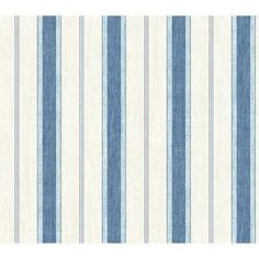 The Wallpaper Company 56 sq. ft. Blue and White Pinstripe Wallpaper-WC1282845 at The Home Depot