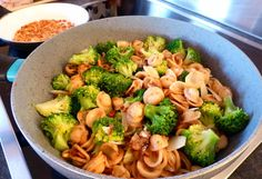 Orechiette Pasta with Broccoli and Anchovies