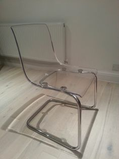 Ikea Dining Table Chairs Perspex Clear Ghost 4 Transparent Tobias