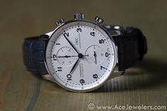 Portuguese Chronograph / Ace Jewelers Blog