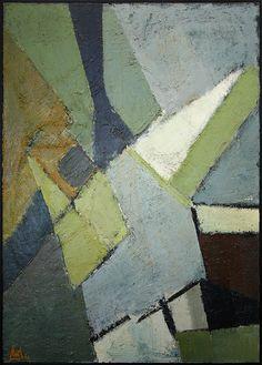 Nicolas de Staël, Composition, 1949