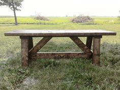 Rustic Providence Entry Bench | Do It Yourself Home Projects from Ana White
