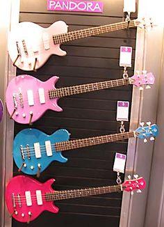 Luna Guitar Luna Guitars, Bass Guitars, Luna Ukulele, I Cool, Cool Stuff, Namm Show, Guitar Pins, Acoustic, Music Instruments