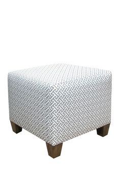 Square Ottoman - Cross Section Charcoal by Sleep Style: Colorful Headboards & More on @HauteLook