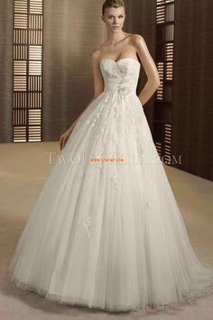 Col en cœur Zip Naturel Robes de mariée 2014