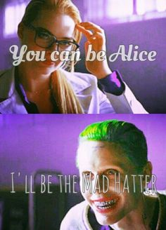 You Can Be My Alice To My Madhatter