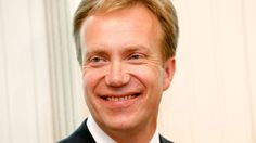 NORWAY: Børge Brende, Minister of Foreign Affairs since 16 October 2013.