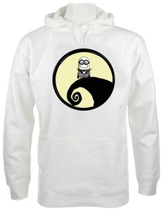 despicable me nightmare before christmas hoodie   Size by qieyoung, $30.00