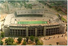 Legion Field, Birmingham, AL., 1927 to date. Capacity: up from at opening. - Today in Pro Football History: Past Venue: Legion Field, Alabama Football, College Football, American Football, Sports Stadium, Stadium Tour, Birmingham Alabama, Birmingham Skyline, University Of Alabama, Alabama College