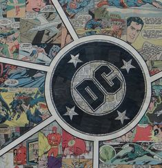 DC Abstract by ComicCollageArt on Etsy