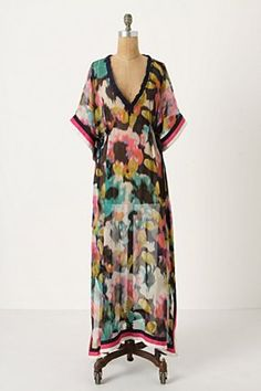 Anthro $148... I love this cover up but I'm afraid I'd look like the horny lady upstairs on Three's Company