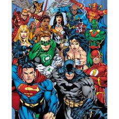DC Comics Cast - Mini Poster - 40 x 50cm - http://tidd.ly/54050ef7