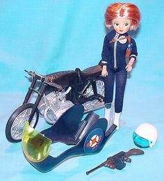 Havoc doll and motorbike