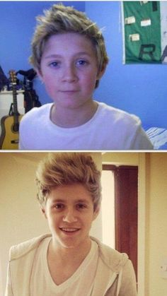 Lets take a minute and appreciate how freakin' cute Niall was as a child and how freakin adorable his now. Like STAHP. I just want to take him home:) His hair hasn't changed :p