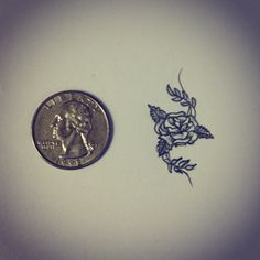 Small rose tattoo sketch / drawing  by - Ranz