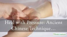 Acupressure: Ancient Traditional Chinese Medicine Technique for Health and Relaxation Watch on. Health Heal, Health And Wellness, Traditional Chinese Medicine, Energy Level, Acupressure, Medical Advice, How To Increase Energy, Alternative Medicine, Natural Health