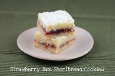 Lydia's Austrian Strawberry Shortbread Cookies ~ at  Food Librarian ~~ Recipe adapted from Butter Sugar Flour Eggs by Gale Gand