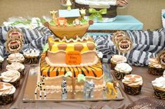 Safari Noah's Ark Baby Shower Party Ideas | Photo 3 of 12 | Catch My Party