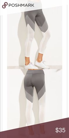 LAST 1 • workout legging yoga pants etc Wide band / color block workout legging. Light weight. Air filtered for breathable wear.  They are def true to size. Pants Leggings