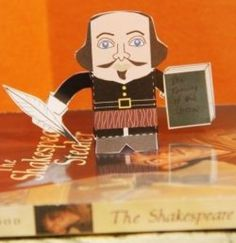 """We know that Shakespeare wrote drama to be performed in a theater not """"literature"""" to be analyzed during language arts lessons. So reading his plays doesn't achieve the same effect as watching a performance. But you can actually bring the theater… Shakespeare Theatre, Shakespeare Plays, William Shakespeare, Shakespeare Birthday, Shakespeare Festival, Teaching Theatre, Drama Teacher, Drama Class, British Literature"""
