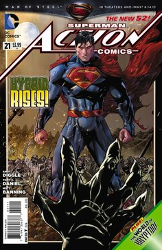 New 52 Action Comics # 21
