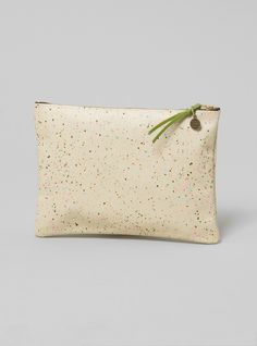 Couverture and The Garbstore - Womens - Falconwright - Multicolour Galaxy Pattern Leather Clutch
