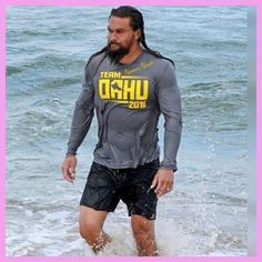 Jason Momoa Aquaman, Jason Momoa Shirtless, My Sun And Stars, Khal Drogo, Baywatch, Big Men, Baby Daddy, Celebs, Celebrities