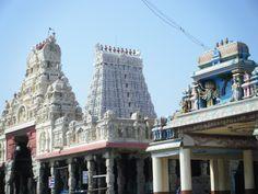 Lord Murugan Temple, Tiruchendur, Tamilnadu - India. One of the six abodes of Lord Murugan.