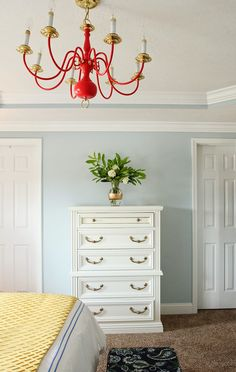 Paint Colors, Light Fixtures, and Accessories  (More on Melody's Room)   furniture color is behr nude