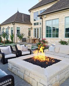 Magical summer nights. 💙✨ Outdoor Areas, Outdoor Rooms, Outdoor Living, Outdoor Decor, Back Patio, House Goals, My Dream Home, Exterior Design, Future House