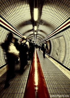 Love the Tube system in London