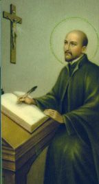 St. Ignatius Loyola-Soldier, philosopher, theologian and overall badass. His zeal for Christ was only matched by the introspection granted to him by the Holy Spirit.