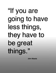 Great things