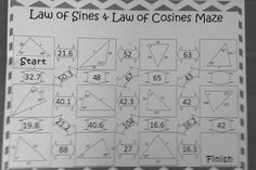 Sine and cosine rule exam questions answers