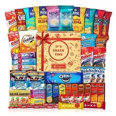 Care Package 40 Count Cookie Chips  Candies Party Snack Gift Bundle -- More details can be found by clicking on the image. #GetWellGift