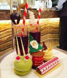 Annual Christmas #afternoontea with @ekcordell  #epic #cake #foodporn #cakeporn #festive #reindeer #santa #langhamhotel #yum #instagood #christmas #indulgent by yukmiester