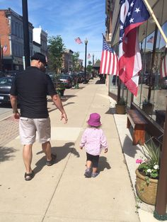 Stroll in Downtown Wapakoneta, Ohio... USA ;)