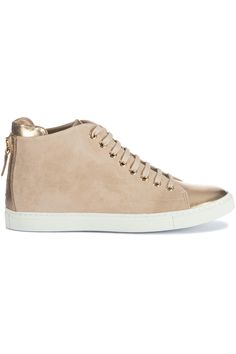 Coole Mai Mai Gladys Camoscio Tortora (taupe) Dames sneakers van het merk mai mai . Uitgevoerd in taupe.