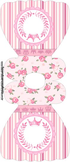 Convite-Vestido-Coroa-de-Princesa-Rosa-Floral.jpg (546×1267)