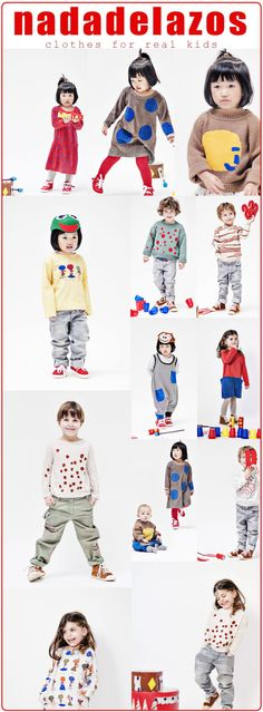 Three years ago, German born designer Kristina Laux imagined dressing kids in clothing perfect for jumping over puddles, dreaming, playing, climbing trees and