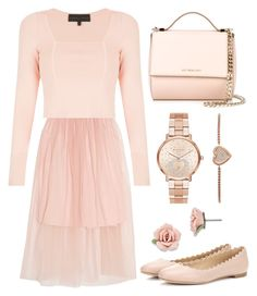 """Syndromes"" by staysaneinsideinsanity ❤ liked on Polyvore featuring Mother of Pearl, Kendall + Kylie, Chloé, Givenchy, Michael Kors and 1928"