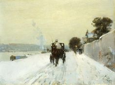 Along the Seine - Childe Hassam - WikiPaintings.org