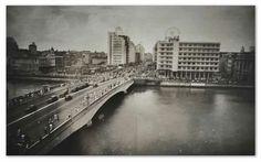 Bairro de Santo Antonio com a Ponte Duarte Coelho ,1942