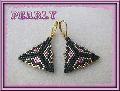 bo triangles by pearly beads, via Flickr