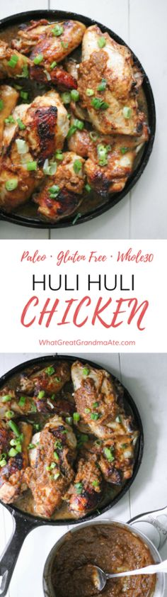Hawaii's popular dish, Huli Huli Chicken, is made gluten free and paleo, and it's so delicious you won't be able to stop eating it!