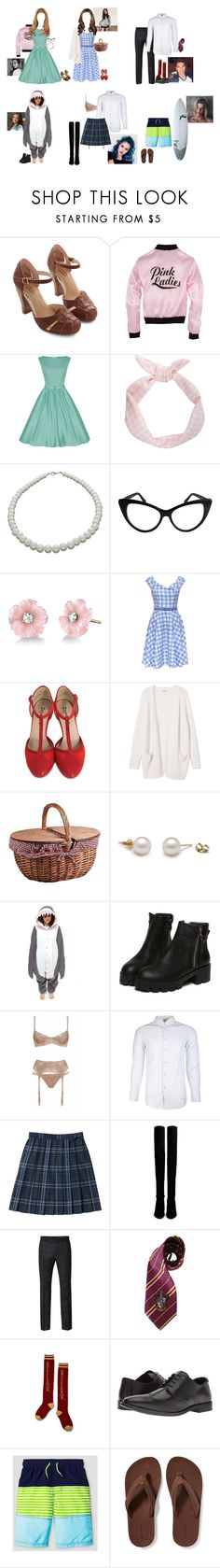 """""""halloween"""" by wildflower-wonderland ❤ liked on Polyvore featuring Seychelles, NEXTE Jewelry, Irene Neuwirth, Repetto, Monki, Picnic Time, Agent Provocateur, rag & bone, Stuart Weitzman and Ben Sherman"""