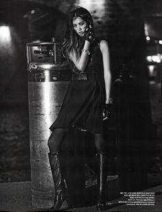 """Night Drive"" Vogue Korea August 2014"
